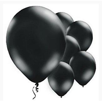Ballonnen zwart latex