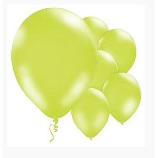 Ballonnen lime groen