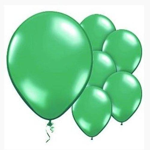 Ballonnen metallic groen