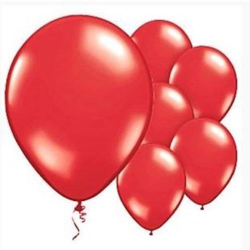 Ballonnen rood glans