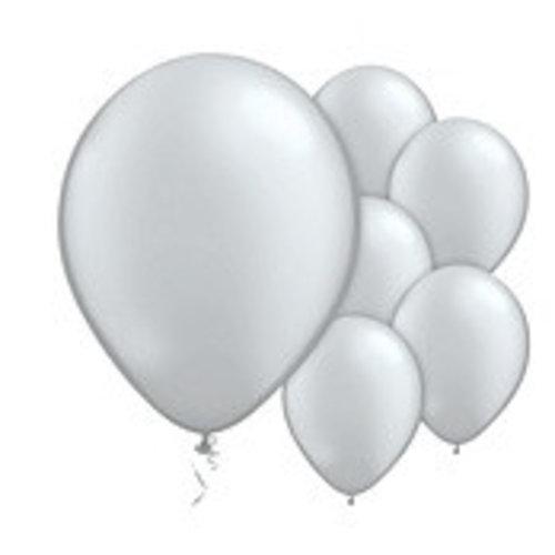 Zilver metallic ballonnen