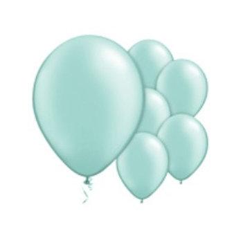 mint groen ballonnen