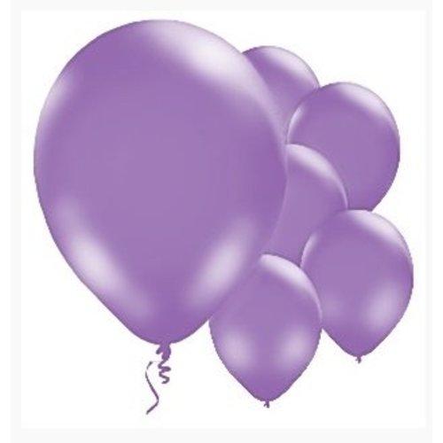 Paarse ballonnen