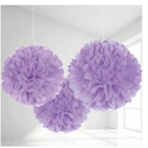 Pompoms lila