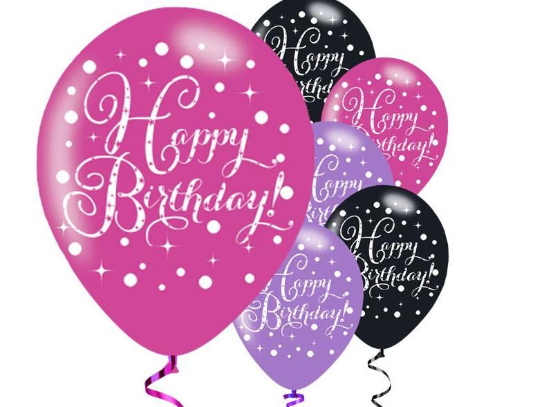 40 jaar happy birthday ballonnen latex j style de online feestwinkel groot - Kamerjongen jaar deco ...