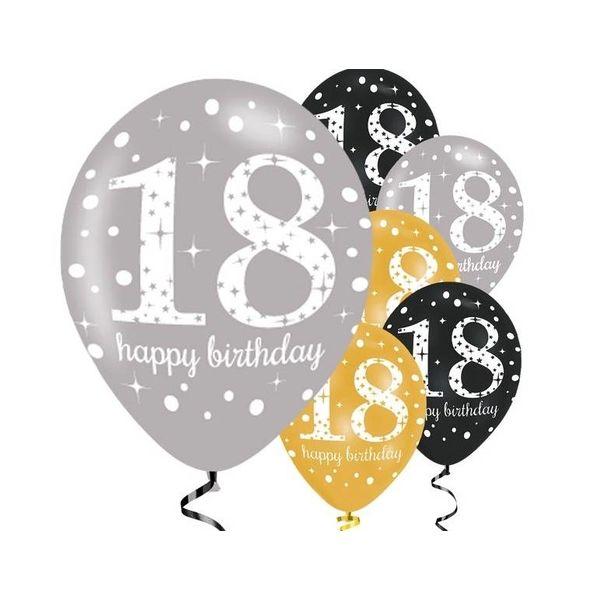 18 jaar ballonnen j style de online feestwinkel groot voordelig aanbod verzending - Kamerjongen jaar deco ...