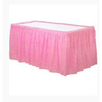 Tafelrok licht roze