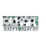 Voetbal happy birthday slinger