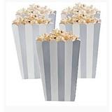 popcorn bakjes zilver