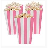 Popcorn bakjes licht roze