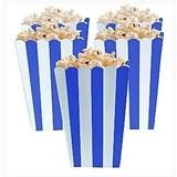 popcorn bakjes royal blauw