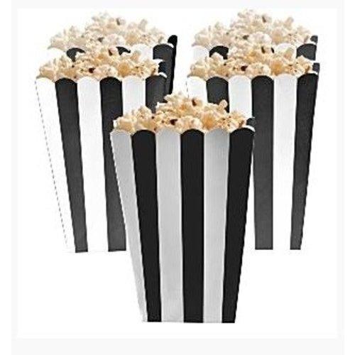 Popcorn bakjes zwart