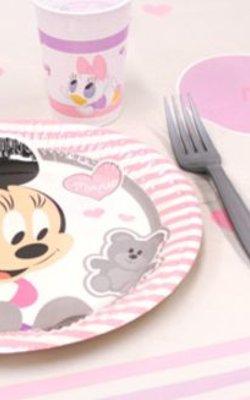 Baby Minnie mouse feestartikelen