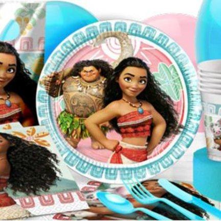 Disney Moana feestartikelen vindt je voordelig en snel in de online feestwinkel van J-style-deco.nl