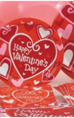 Valentijn feestartikelen