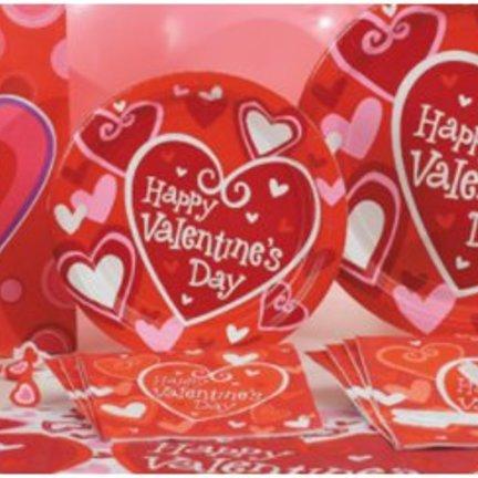 Valentijn feestartikelen vindt u voordelig en snel in de online feestwinkel van J-style-deco.nl