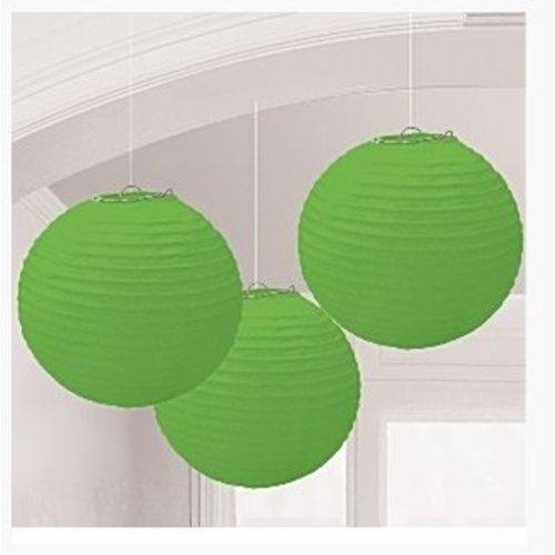 Lampionnen groen