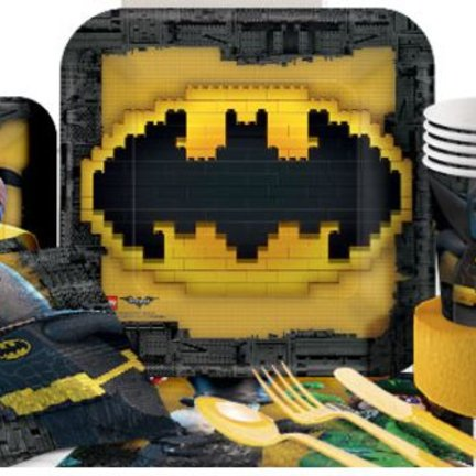 lego batman feestartikelen & versiering