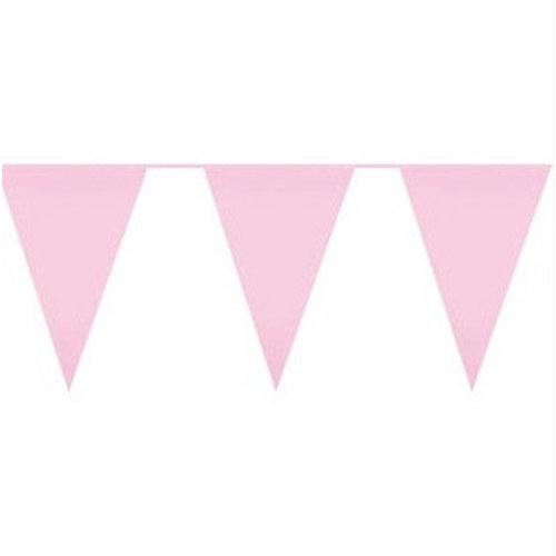 Licht roze vlaggetjes