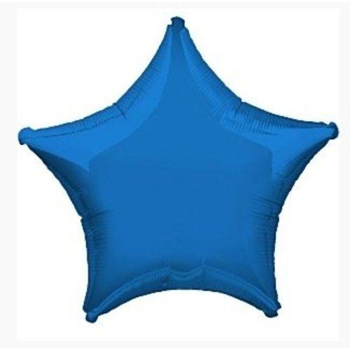 Royal blauw ster ballon