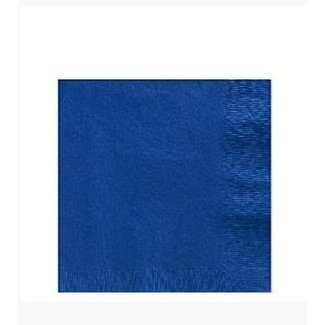 Servetten blauw S