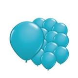 Turquoise ballonnen mini