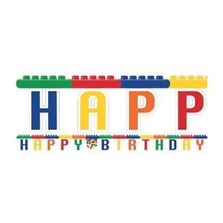 Lego slinger happy birthday