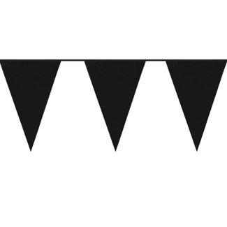 Vlaggetjes Zwart jumbo