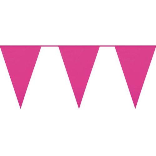 Roze vlaggenlijn roze Jumbo