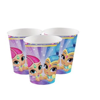 Shimmer en shine bekers