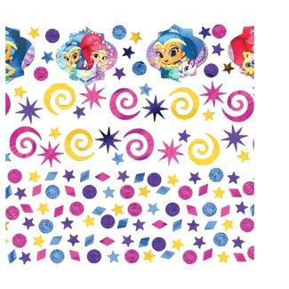 Shimmer en Shine confetti