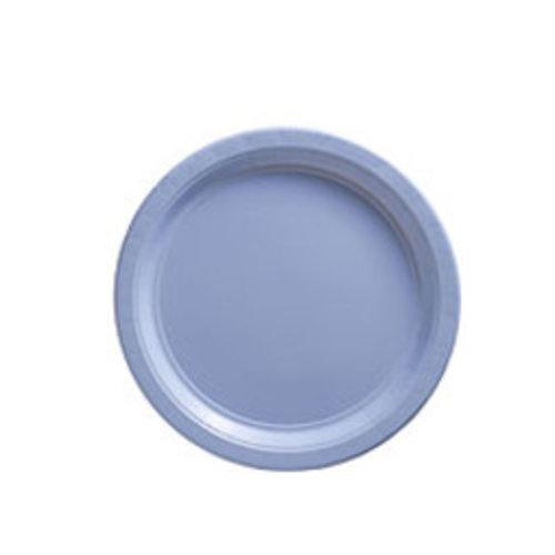 Licht blauwe borden