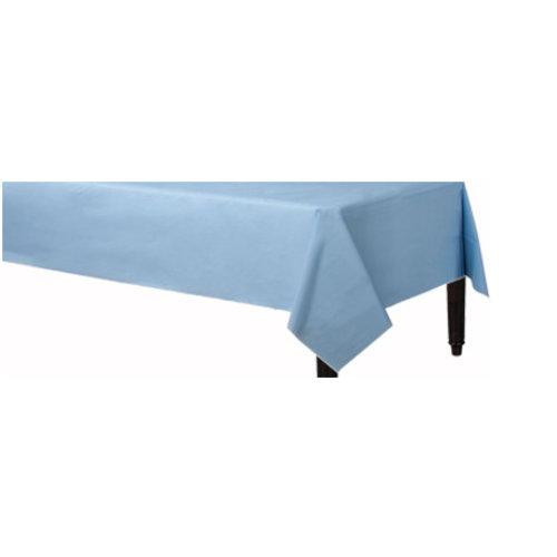 Licht blauw tafelkleed