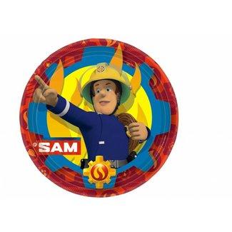 Brandweerman Sam borden.