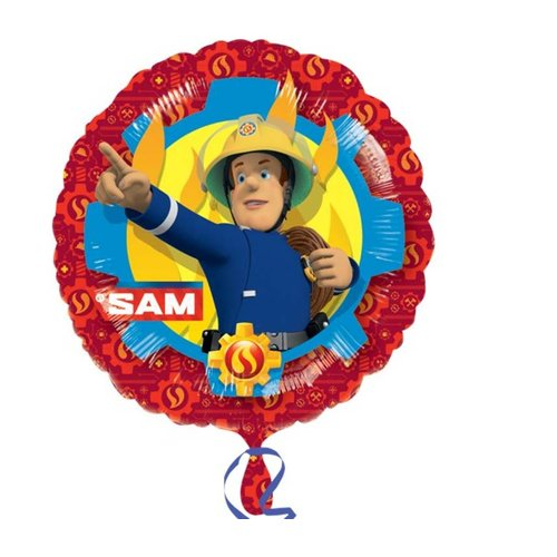 Brandweerman Sam folie ballon.