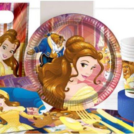Belle en het beest feestartikelen,versiering & ballonnen