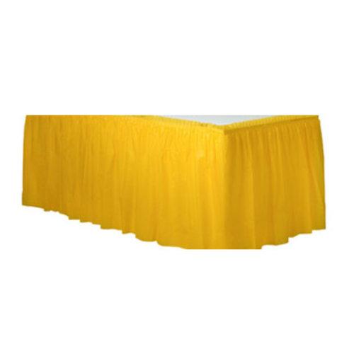 Tafelrok geel