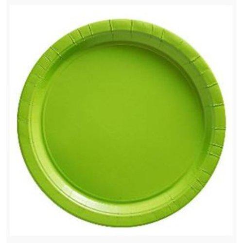 Lime groen borden