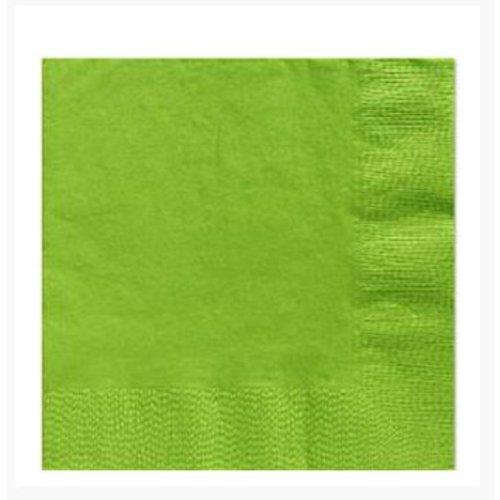 Lime groene servetten M