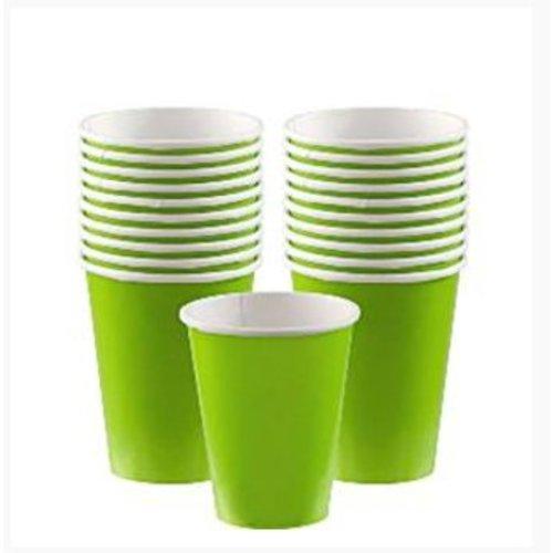 Lime groen koffie bekers M