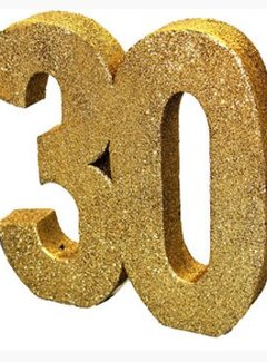 30 jaar tafel versiering goud glitters j style deco j for Versiering goud