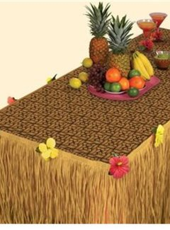 Luau tafel set
