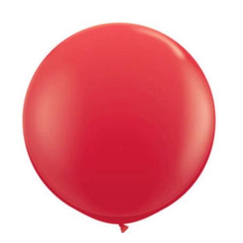 XL rode ballonnen