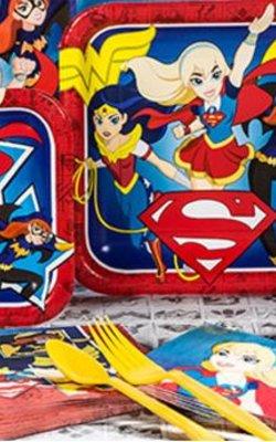 Super helden Meisjes feestartikelen