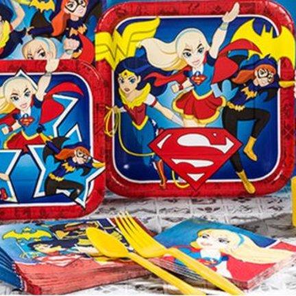 Super helden meisjes Feestartikelen & versiering