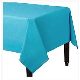 Turquoise tafelkleed