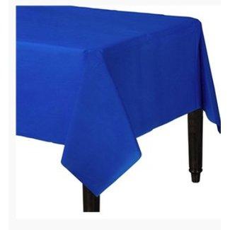 Tafelkleed donker blauw