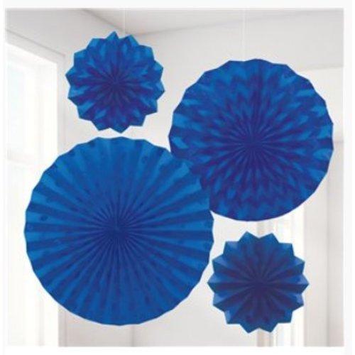 Waaiers donker blauw