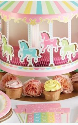 Carrousel feestartikelen