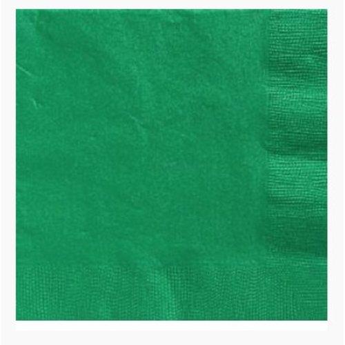 Groene servetten L